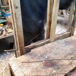 Jig for making birch boot mat