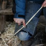 Dressing a weaver